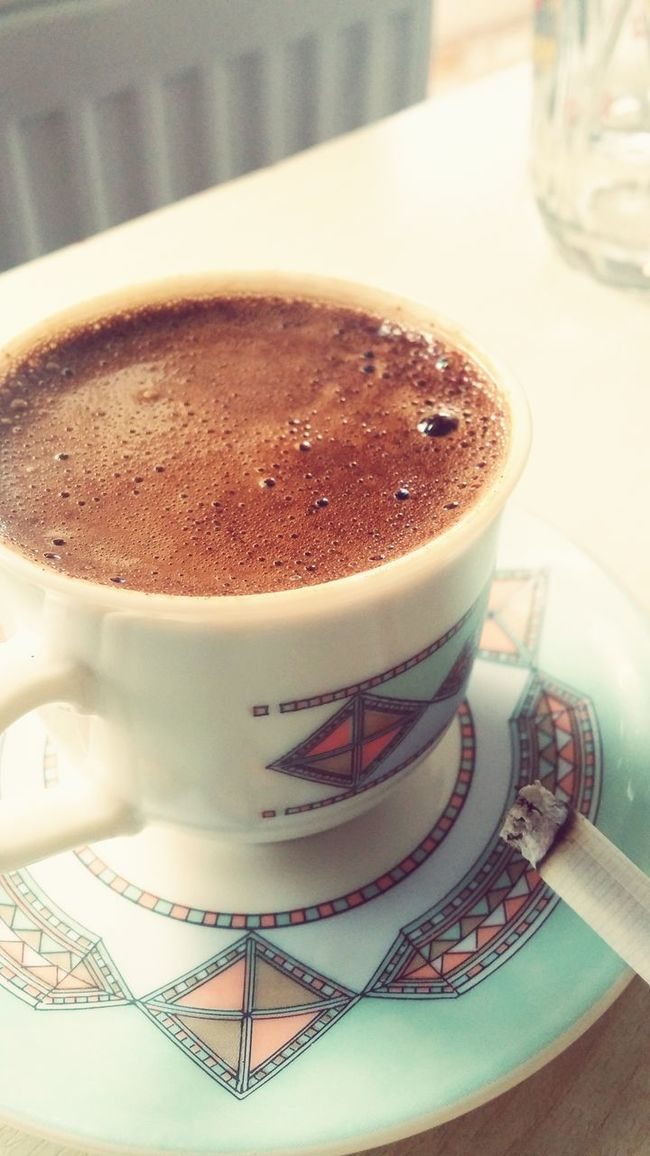 Turkishcoffee Smoke Time Relax World Kahvekeyfi Ikisibirarada Ensevdigim