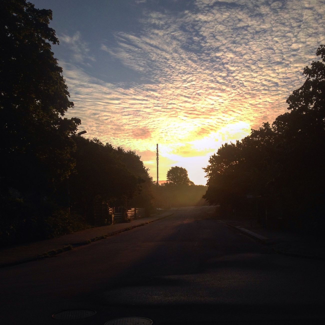 Sunrise, Oscarshem, Lund, Sweden, September 2015 Taking Photos Hello World