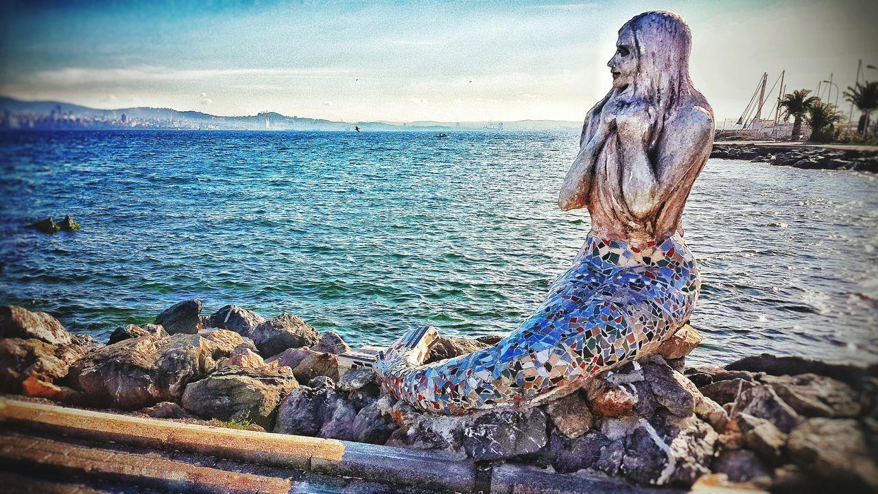 Sea Water Day People Sky Turkey Blue Sky Adult No People Women Summer Waiting Waiting For Love ♡ Beach Denizden Geleni Beklemek Deniz Deniz Kızı Seagrill Love ♥ Longing To Go Back... Dear ...