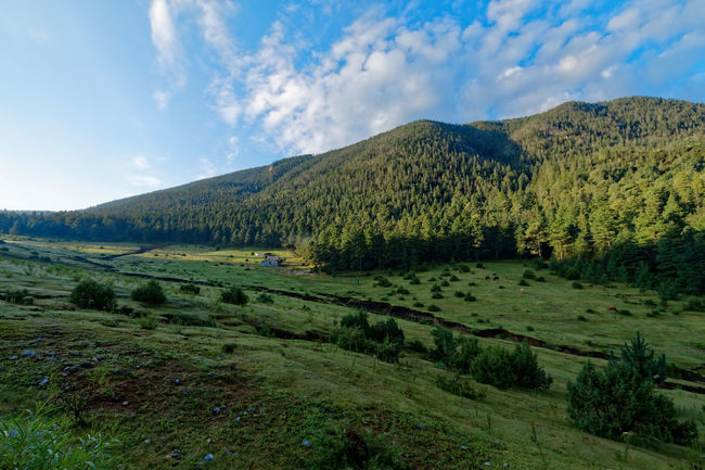 Tarillal Beauty In Nature Cloud - Sky Countryside Dramatic Landscape Green Color Landscape Majestic Mountain Non-urban Scene Outdoors Scenics Sky Tranquil Scene Tranquility Valley