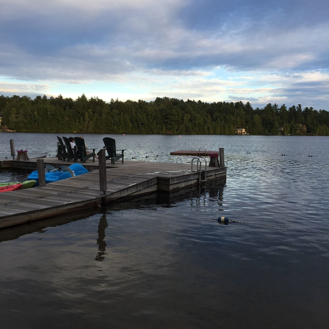 Lake Placid Mirror Lake Lake Dock Water Resort Relax Water View Adirondack Mountains Nature Sky Tranquil Scene Tranquility Beauty In Nature Cloud - Sky Scenics Tree Outdoors Nautical Vessel Day No People