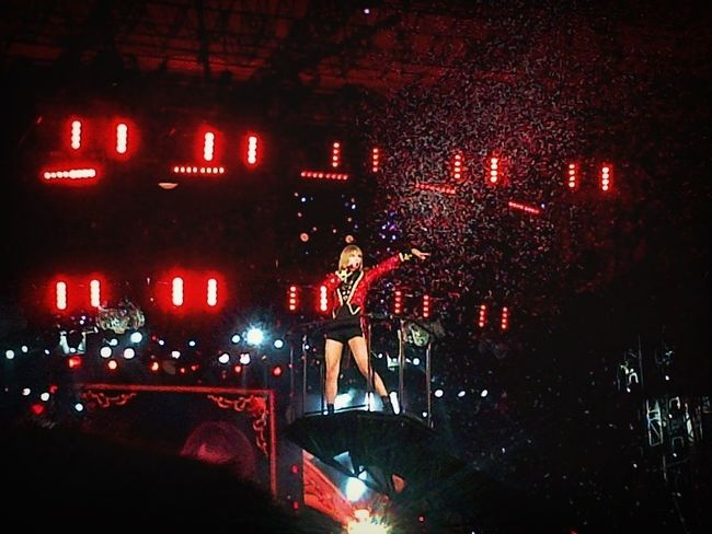Taylor Swift Her concert was amazing! I had a blast! Amazing Concert Fun Times Looks Like Someone Is Ready For The Circus!