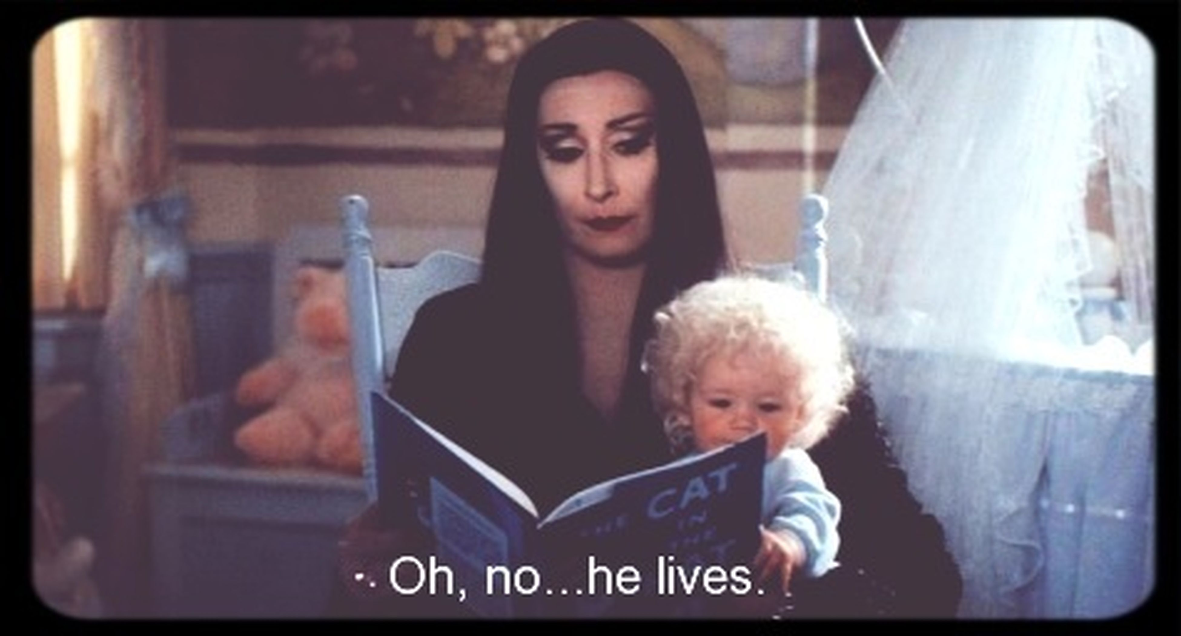 Morticia Addams Fairy Tale Watching A Movie Quotes
