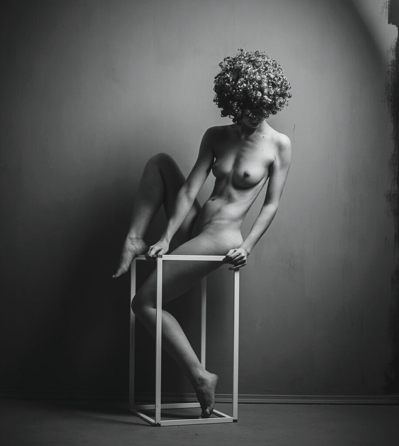 Beauty Loneliness Sitting One Woman Only Depression - Sadness Nüde Art. Nu Studiophotography Nude_ Not_porn One Young Woman Only Nude_body Nudephotosession Nudeartistic Abstract Art Human Leg Nude_model Body Part Nudeartphotography Nudelife Nudeblackandwhite Studio Shot Human Skin Gray Background Naked_art Nude-Art