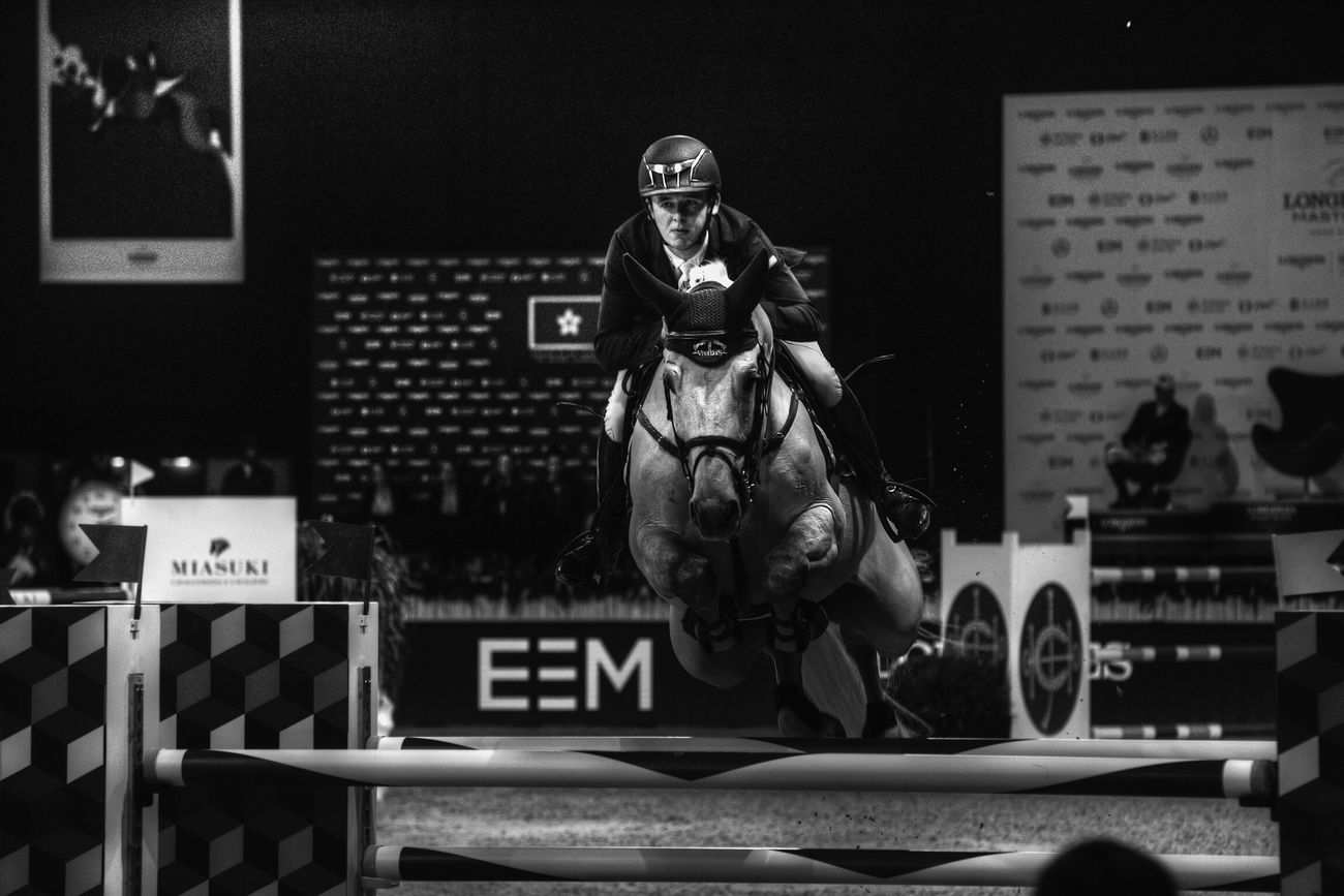 Longinesequestriancollection Longines Master Equestrianphotography Black And White Horse Riding Hong Kong
