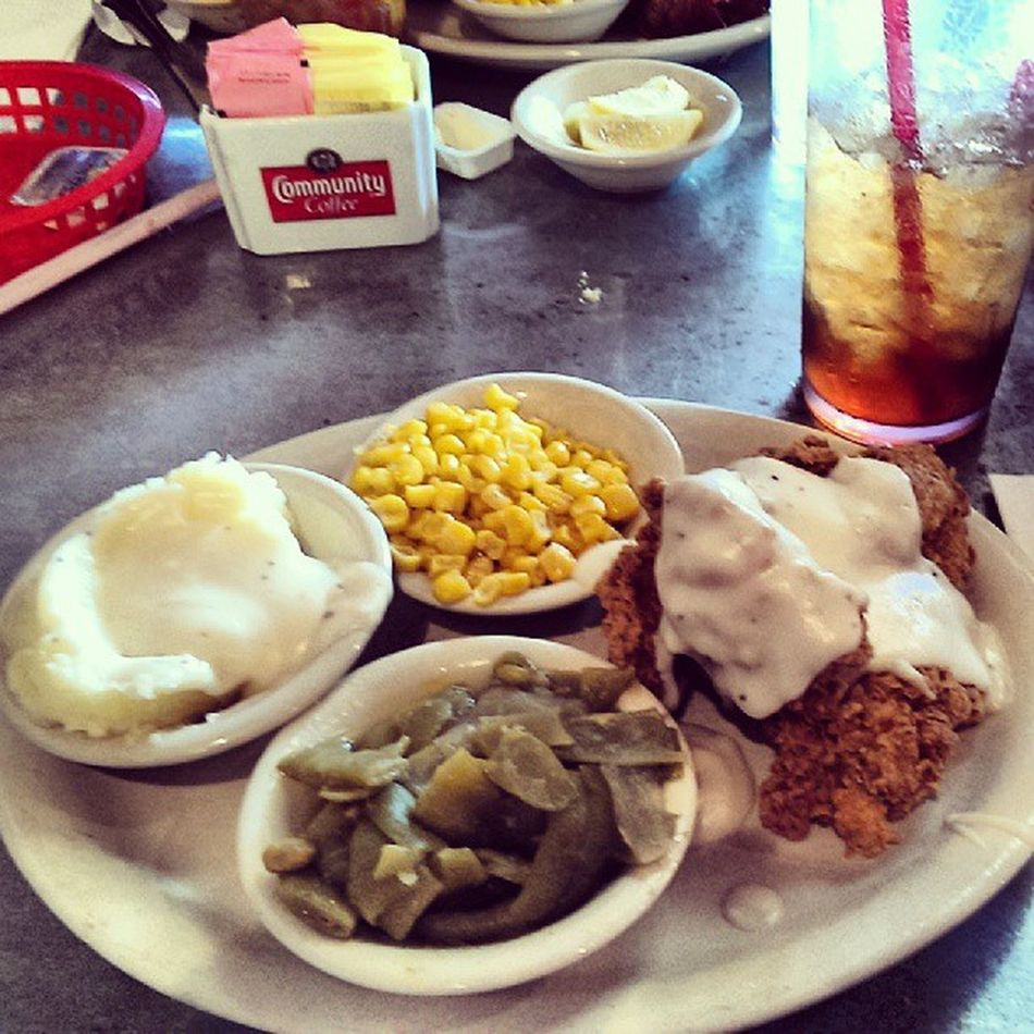 Lunch at Norma was spook good! Chickenfriedchicken Stuffed Naptime :)