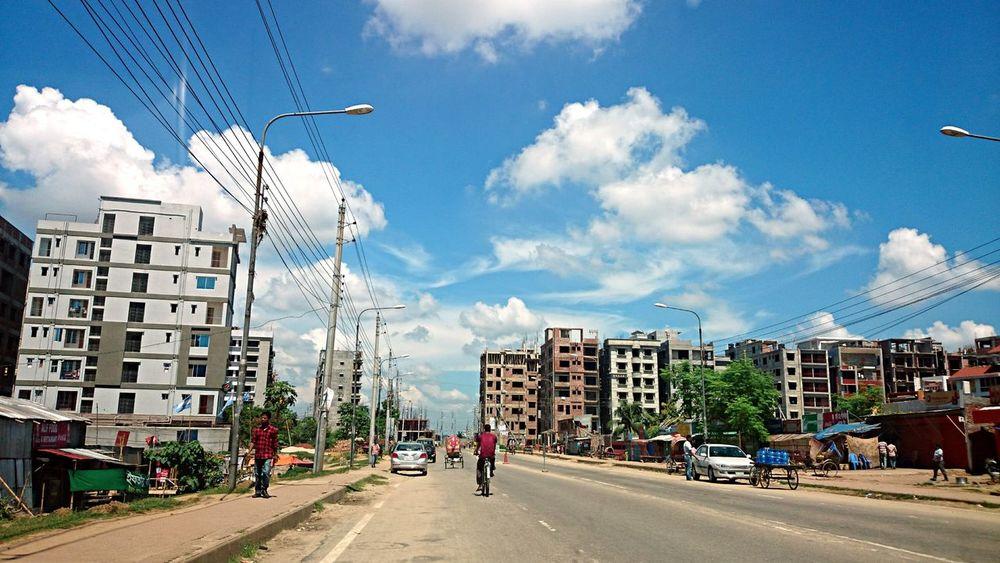 Clouds in... Cloud And Sky Cloud Gazing  Dhaka Sky Urban Nature