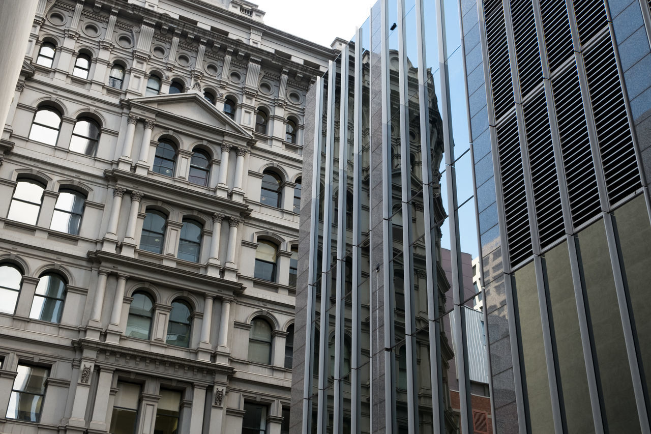 Australia Building City City Façade Facade Building Façade Melbourne Melbourne City Mirror Mirrored No People Outdoors Perspective Photography Reflection Sky