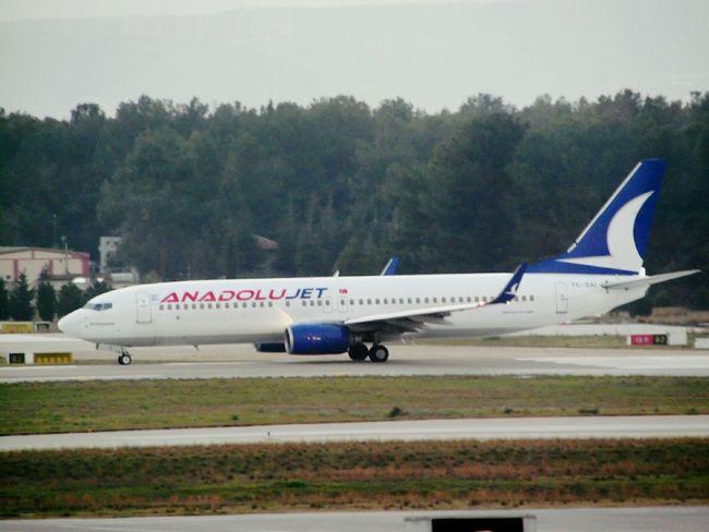 Boeing 737 Izmir Turkey Spotting Plane Spotting Samsungphotography Samsung Smart Camera Anadolu Jet