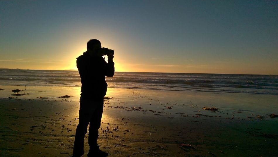 Fotógrafo en la playa.. Smartphone Playa #beach Photographer