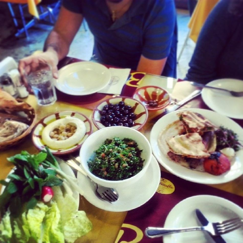Lunch Isba3i Bel  Homos