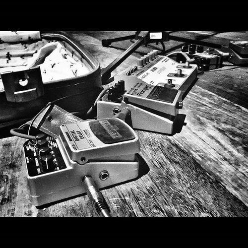 Set de Filipe - Atroça Kim  Mobgraphia Snapseed Guitar Guitarra Pedais Overdrive