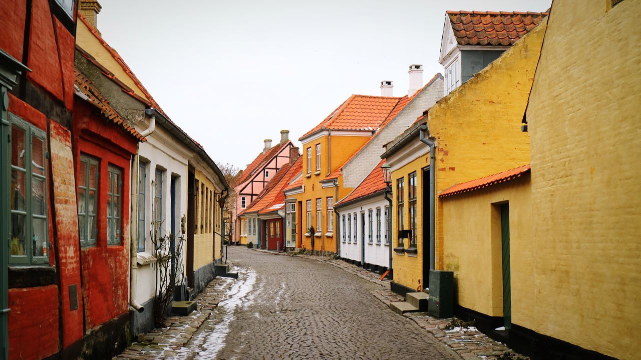 Denmark Building Exterior Architecture Built Structure No People Outdoors Residential Building Row House City Day Sky