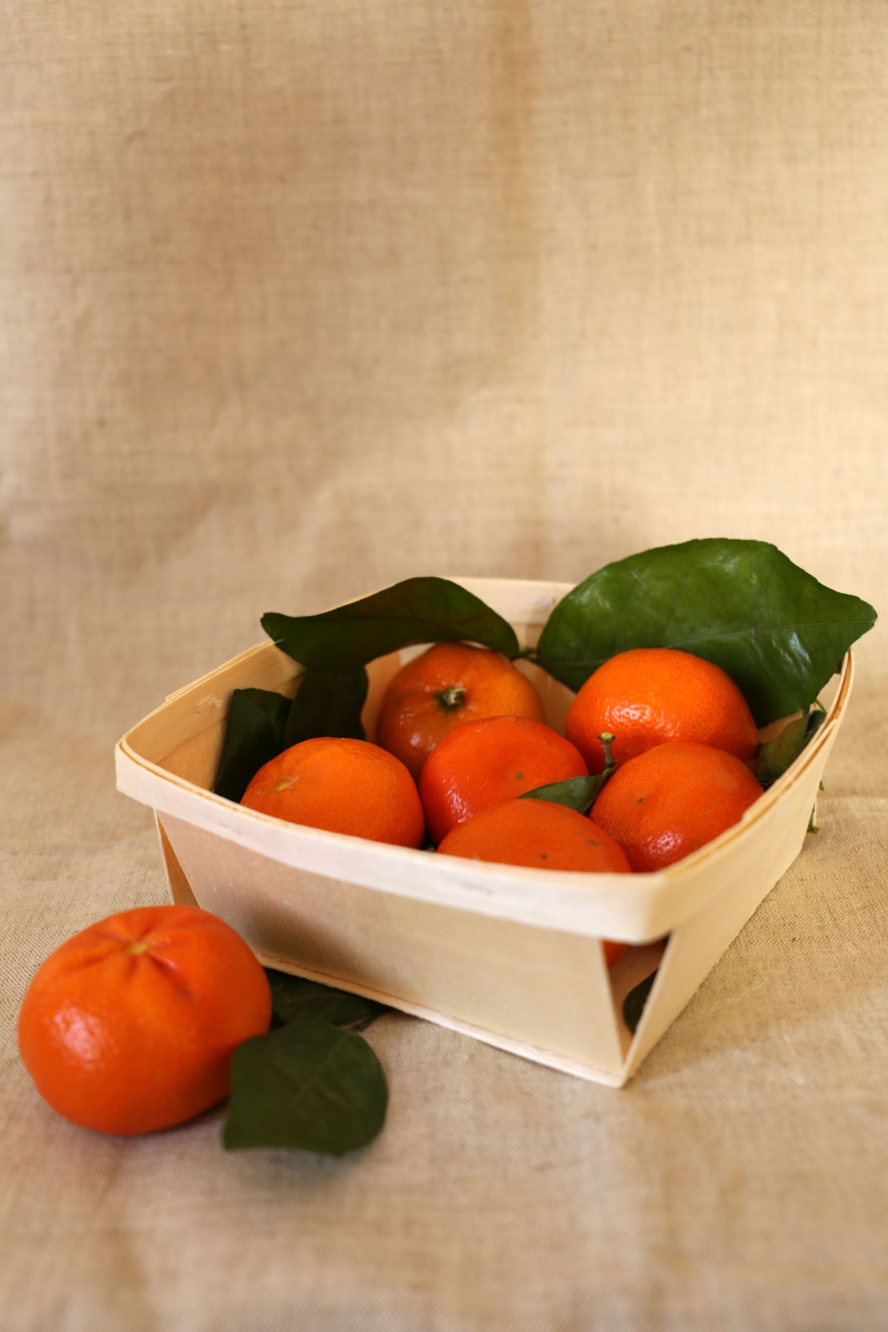 Bowl Canvas Close-up Day Food Freshness Fruit Healthy Eating Leaf Mandarin Mandarins No People Orange Quality Ready-to-eat Still Life Still Life Photography StillLifePhotography Wood - Material