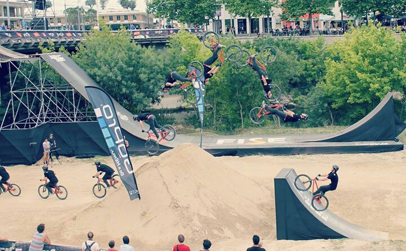 Fise 2014, Montpellier Photography Photoshop Pic Photo Fise Sport Bike Bmx  Montpellier My Creation