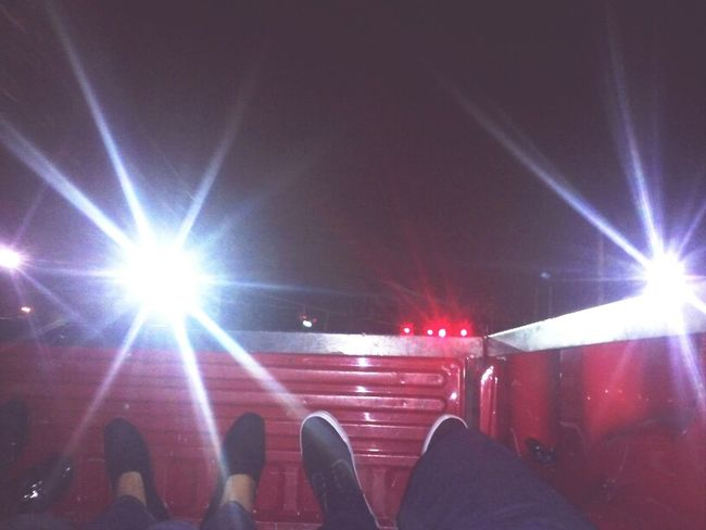 Riding in the back of the truck, first pic Crusing