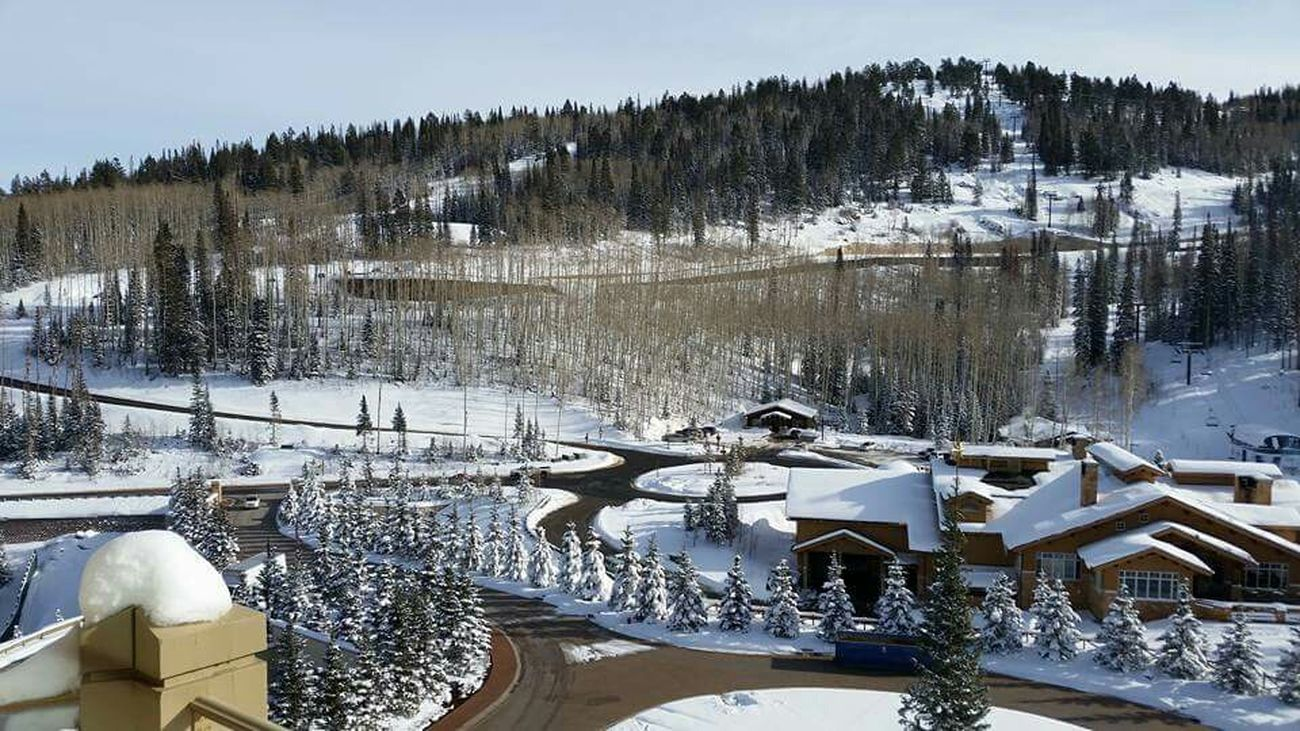 Montage Ressort Deer Valley Utah Wintertime Winter Wonderland Snow ❄ Time