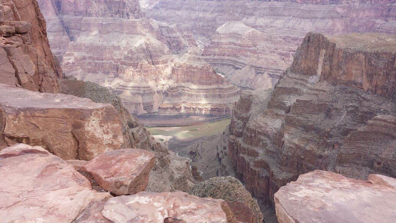 One of my favorite views from today at Grandcanyonwest so incredible and beautiful.