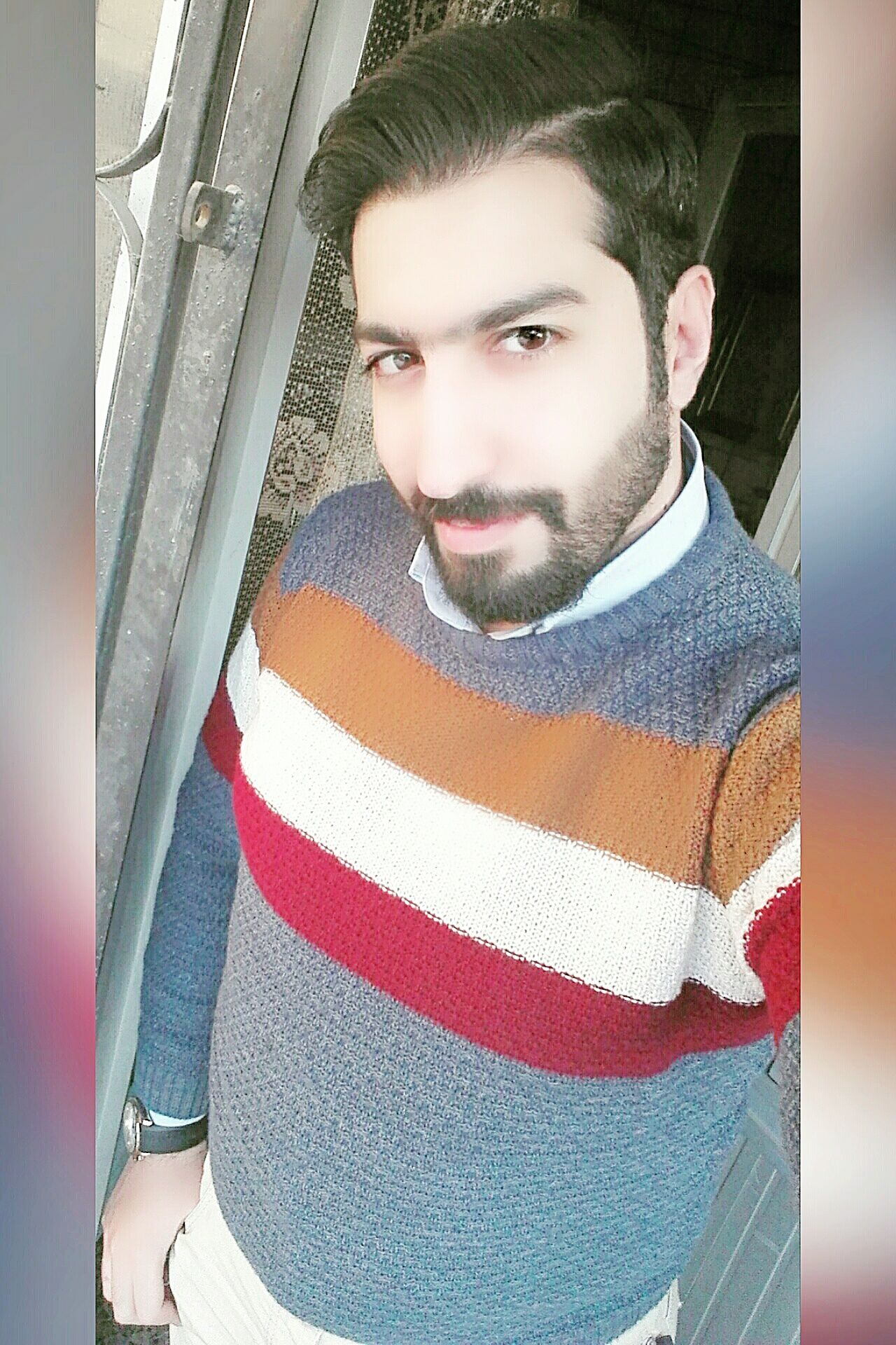 Only Men One Person Beard Portrait Adult Selfieday Looking At Camera Selfie ✌ Me Picture Black Hair Selfienation Focus On Foreground TBT  Nice Handsome Lifestyles Fashion Day The Fashionist - 2015 EyeEm Awards Awosome Self Portrait Around The World Like4like Beautiful Smiling