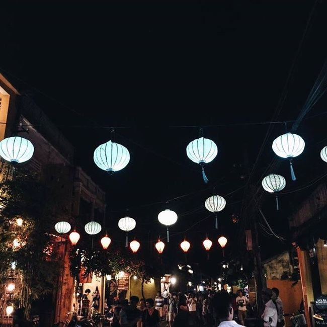 Hoi An Vietnam Vacations Travel Travel Destinations Night View