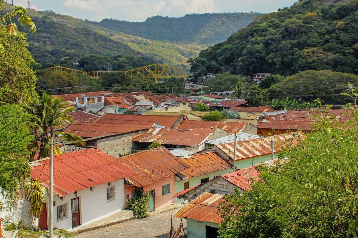 Architecture Colombia Day Honda House Mountain Nature No People Outdoors Roof Rural Scene Tolima Tree Village