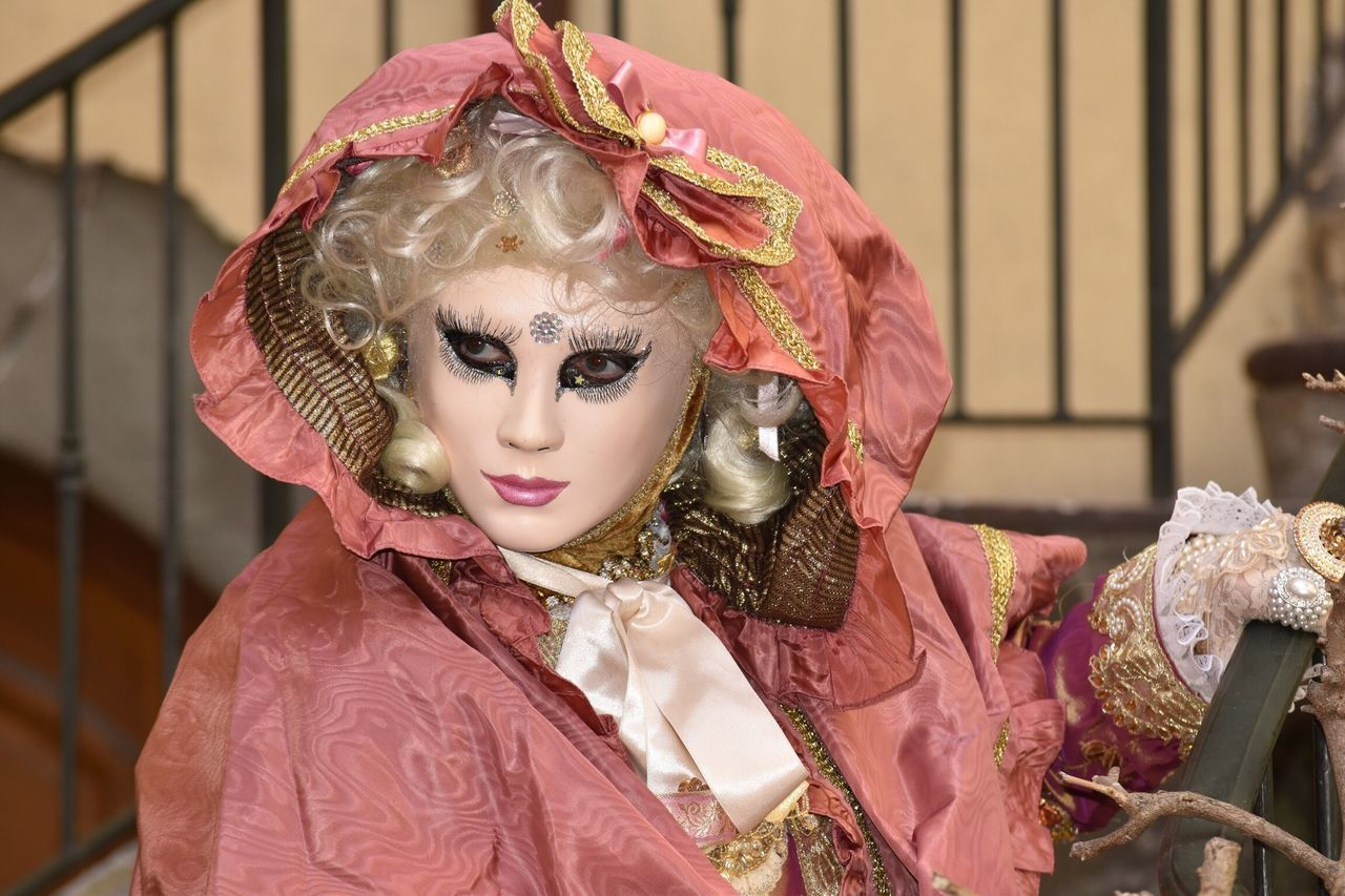 Venetian Mask Carnaval Venitien LuminoCapture