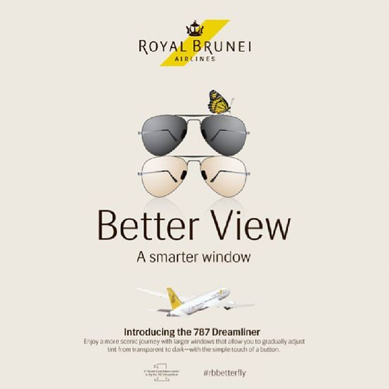 Say hello to larger windows that allow you to adjust the tint from transparent to dark with just a click of a button. RBBetterFly Betterfly RoyalBrunei Brunei InstaBruDroid Andrography Travel