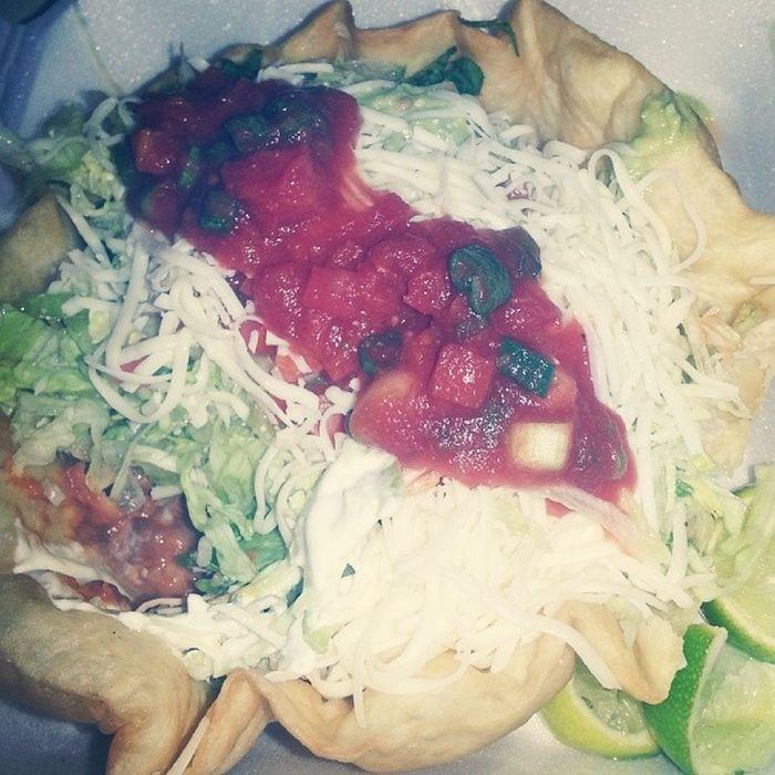 I love living next to Cinco. Foodporn Food Tacosalad Cinco