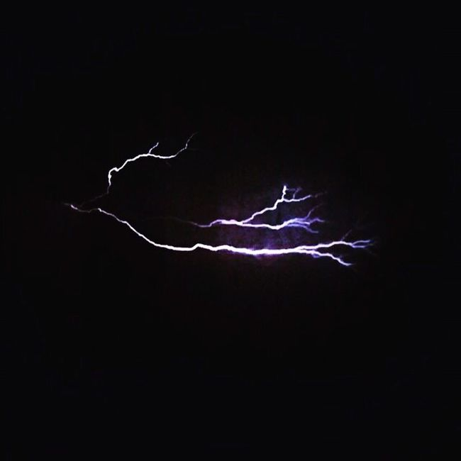 Lightening Storm Night IPhone Split Second Electrical Storms Thunderstorm Long Wait Beautiful Thor