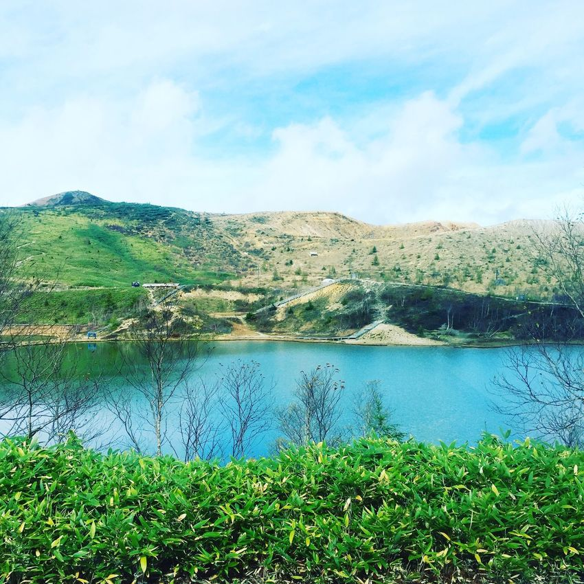 Sky Mountain Nature Scenics Water Landscape Grass Outdoors Tranquil Scene Tranquility Travel Destinations Lake Green Color Day Wilderness Area Vacations No People
