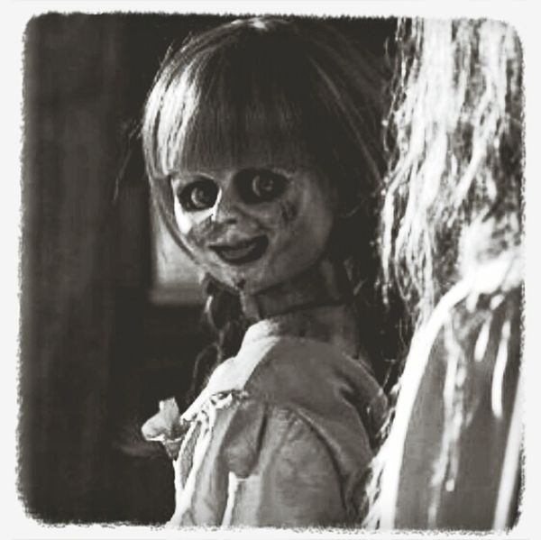 Capa Filter EyeEm Watching The Conjuring scary doll from the conjuring