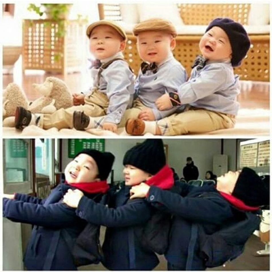 Gmorning Daehan Minguk Manse, stop grown up! Sunday Sunday Morning Daehanmingukmanse Song Daehan The Triplets Thesongtriplets