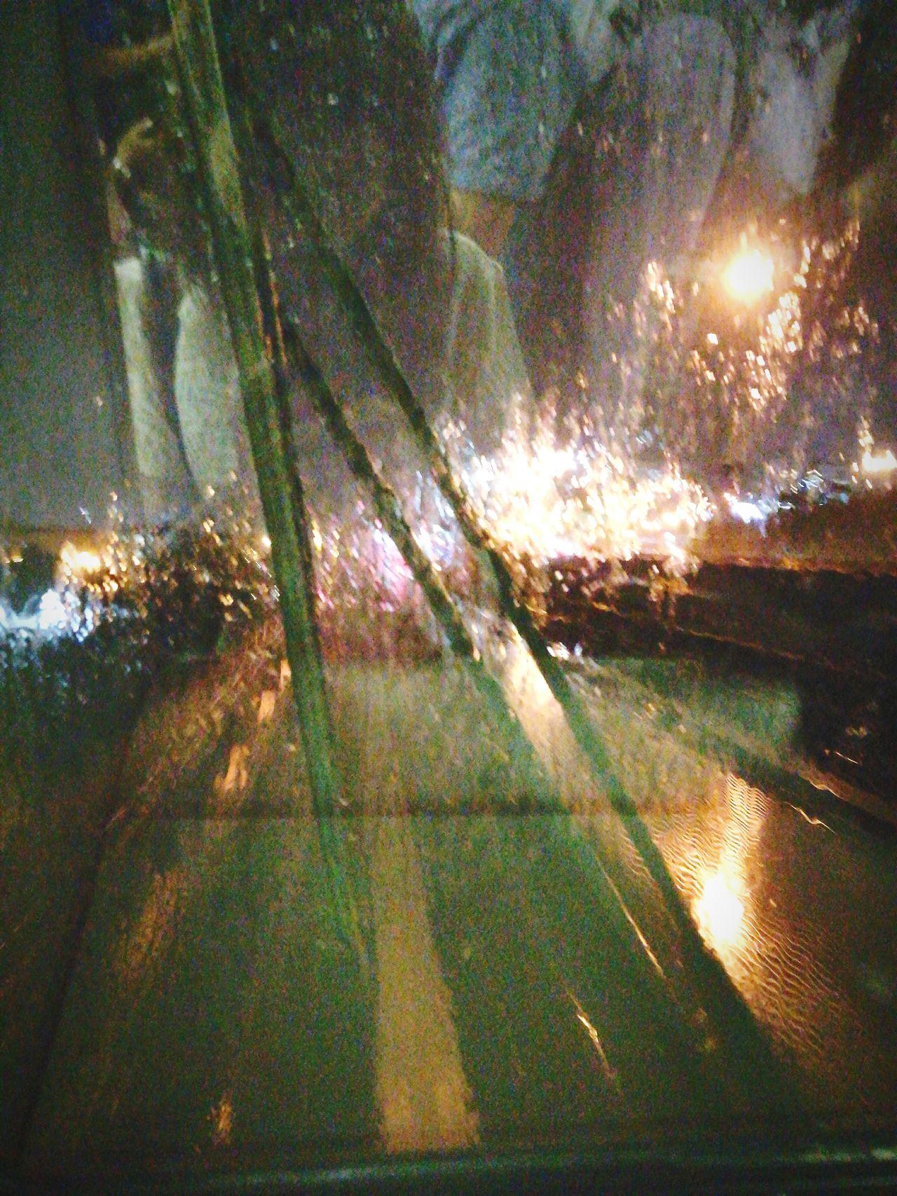 And... It's raining. Creepynight