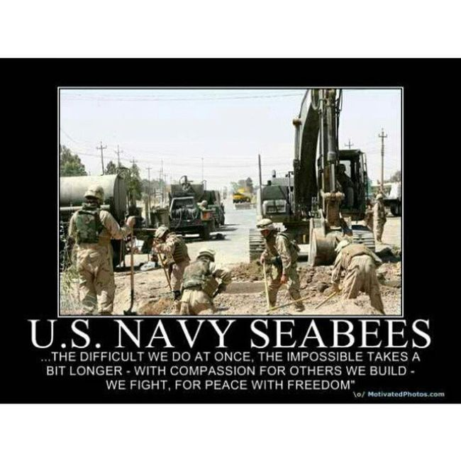 You know it! Usnavy Seabees