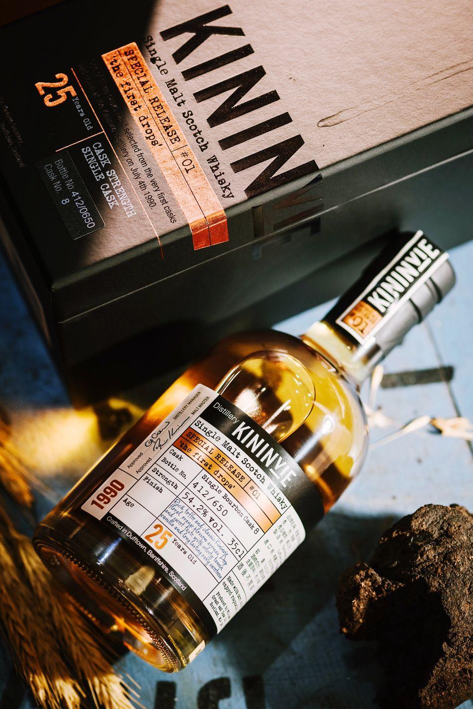 Kininvie 25years Scotch Whisky Whisky 奇富 Taiwan