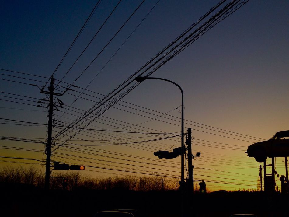 おつかれさまでした。 おつかれさま 夕暮れ時 Sunset Twilight Afterglow IPhone4s