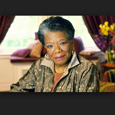 RIP to the GREAT Ms Maya Angelou! Wow !