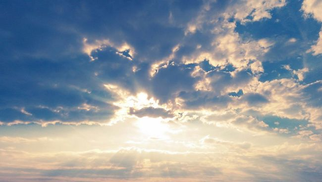 Sky Blue Sunlight Cloud - Sky Nature Cloud Cloudscape Sunbeam Day Outdoors Bright Sun Sky Only Idyllic Saint Petersburg Elagin Island Scenics Beauty In Nature Sky Low Angle View Tranquility Blue Tranquil Scene Nature Sunlight