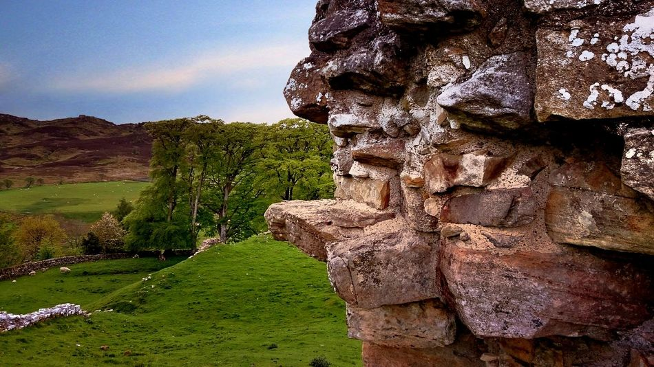 Castle Ruins Harbottle Castle Northumberland Ruins Ancient Building History Stone Built Magical Place Countryside Scenic View Nature Nature_collection Landscape Landscape_Collection Nature's Diversities