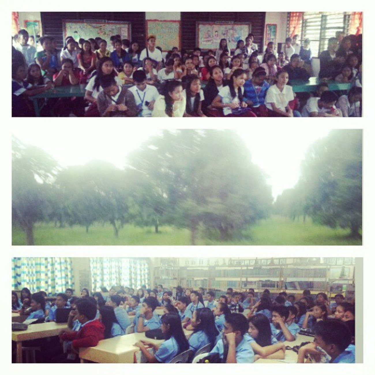 Did career talks again at Kcc and Bnhs . See you next time Kabankalan :D