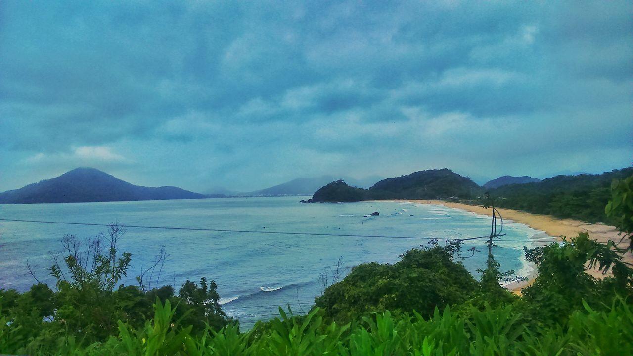Saudade Landscape Mountain Cloud - Sky Beauty In Nature Nature Day Beach Sun Namaste ❤ Reflection Freedoom  Tranquility Brazil Placeinthe_sun Thanks God