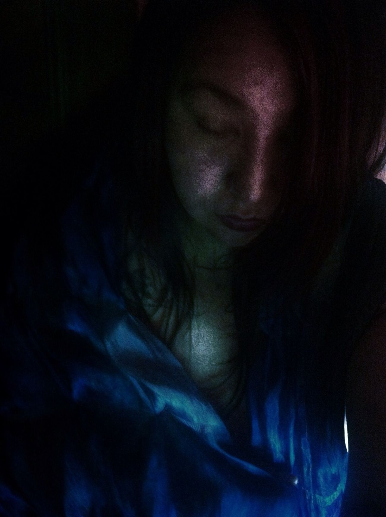Self Portrait YaPecoYoPorTi YOU BLUE ME AWAY...... My Soul Is Stained...