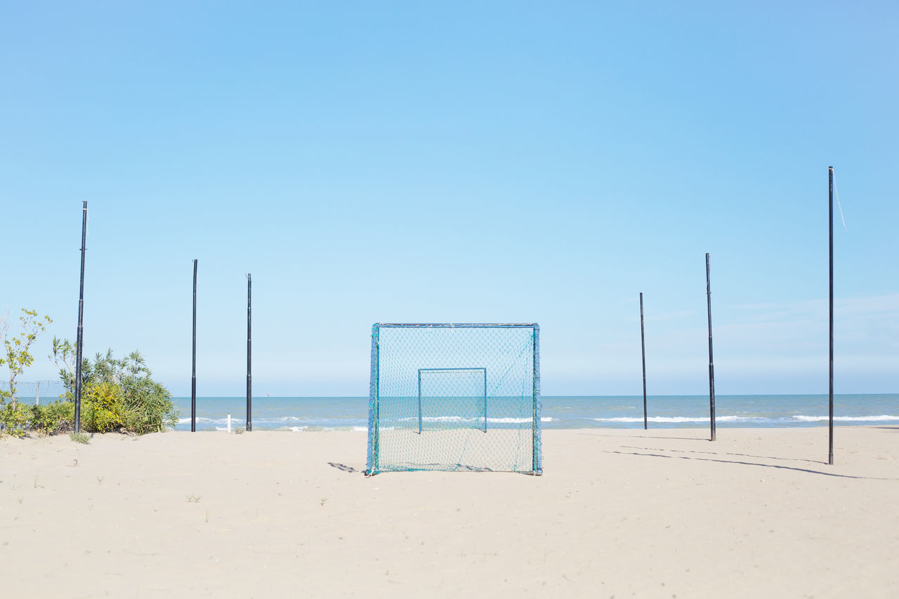 Beautiful stock photos of strand,  Beach,  Beach Volleyball,  Beauty In Nature,  Clear Sky