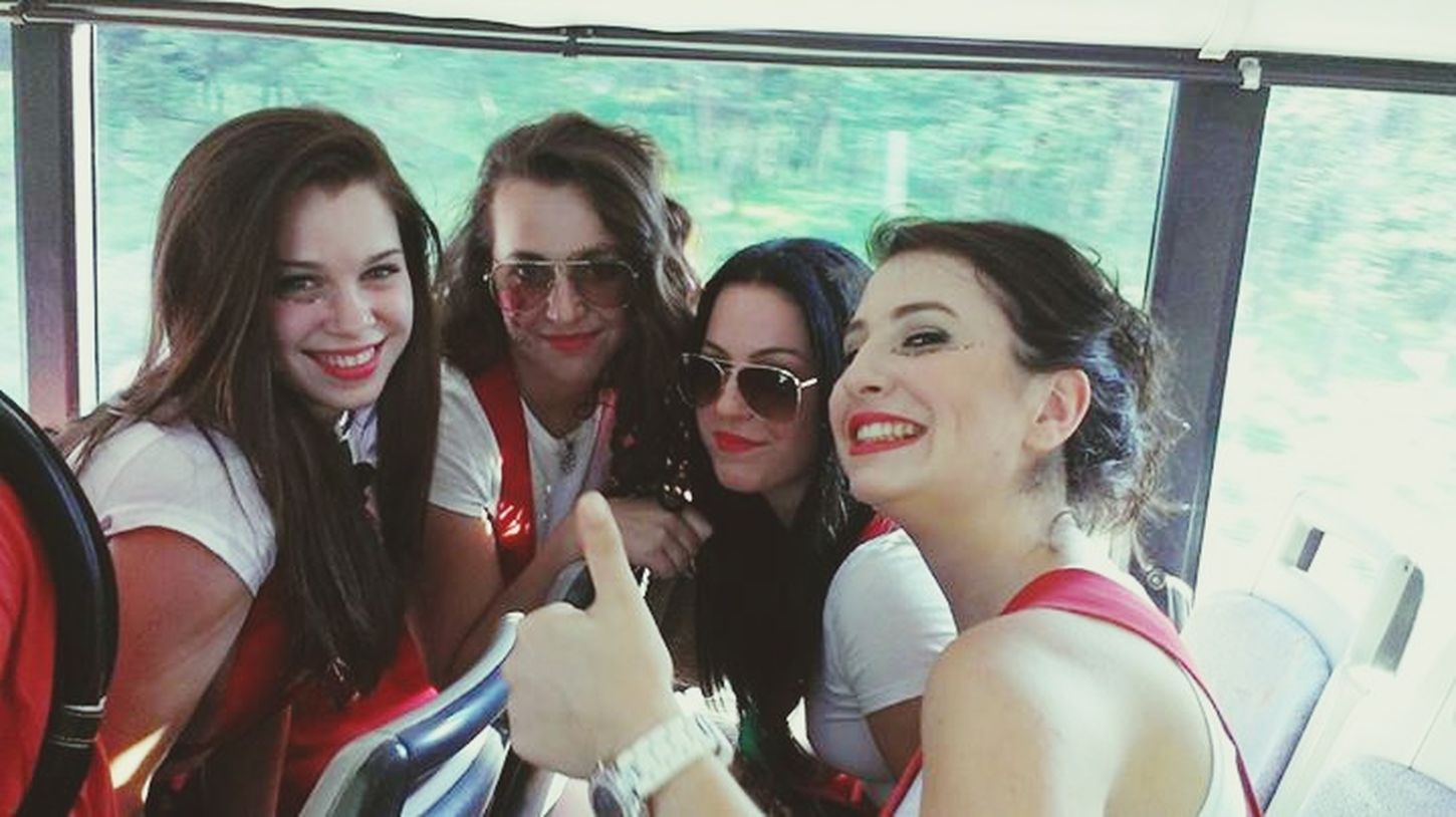 Crazy times with girls last year at carnival :) Carnival2014 Carnival Spirit GirlsJustWannaHaveFun Croatia2014