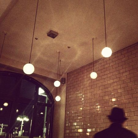 Berlin Restaurant Michelberger Lights