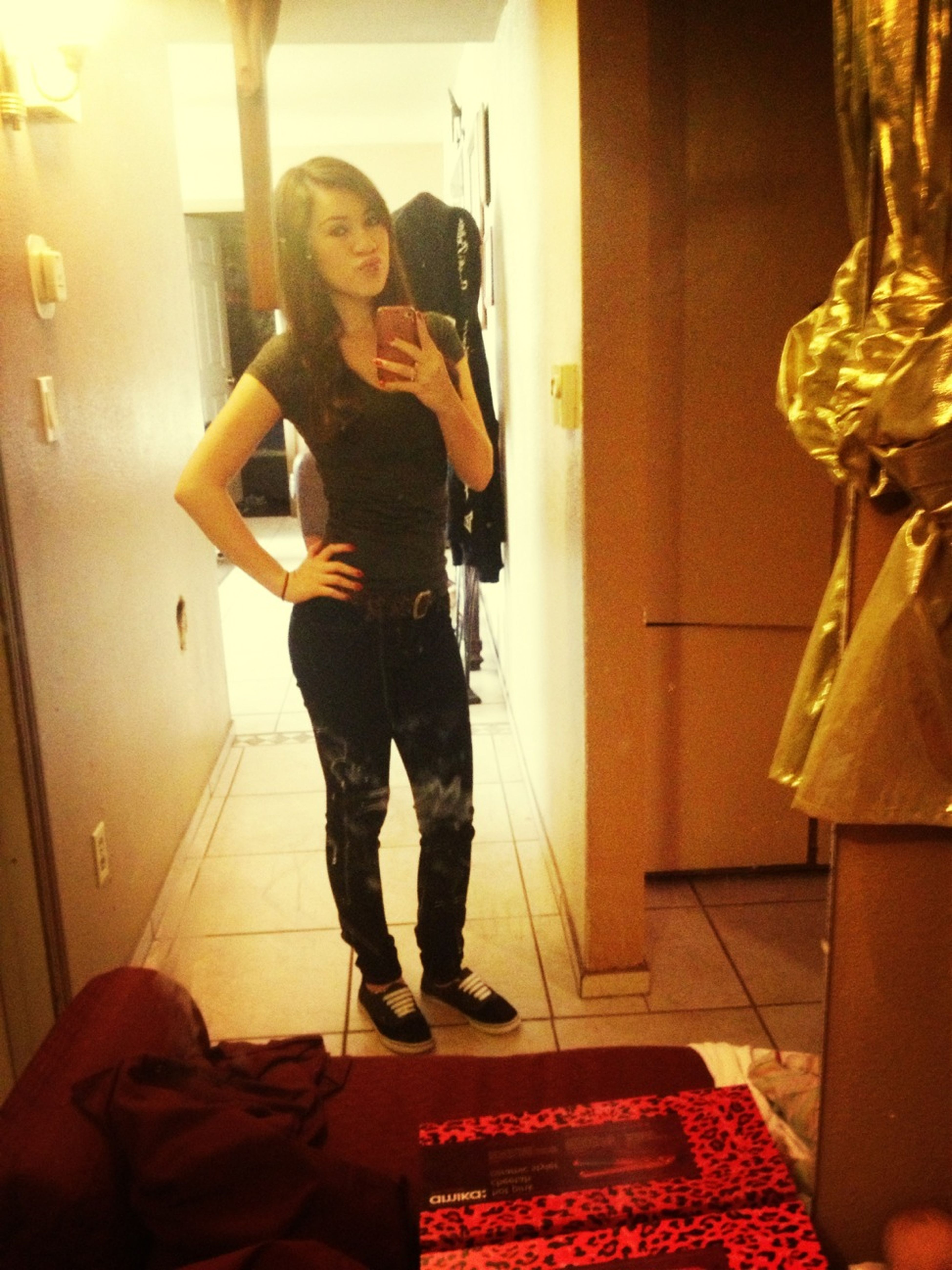 I Wore Shoes For Once :D