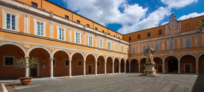 Palazzo dell'Arcivescovado, Pisa, Italy. April 16, 2016. Admired this beautiful biships courtyard which was built 15th century, and makeover the first part of 19th century in Pisa, Italy. Architecture Building Europe Italy No People Palazzo Dell'Arcivescovado Pisa Travel