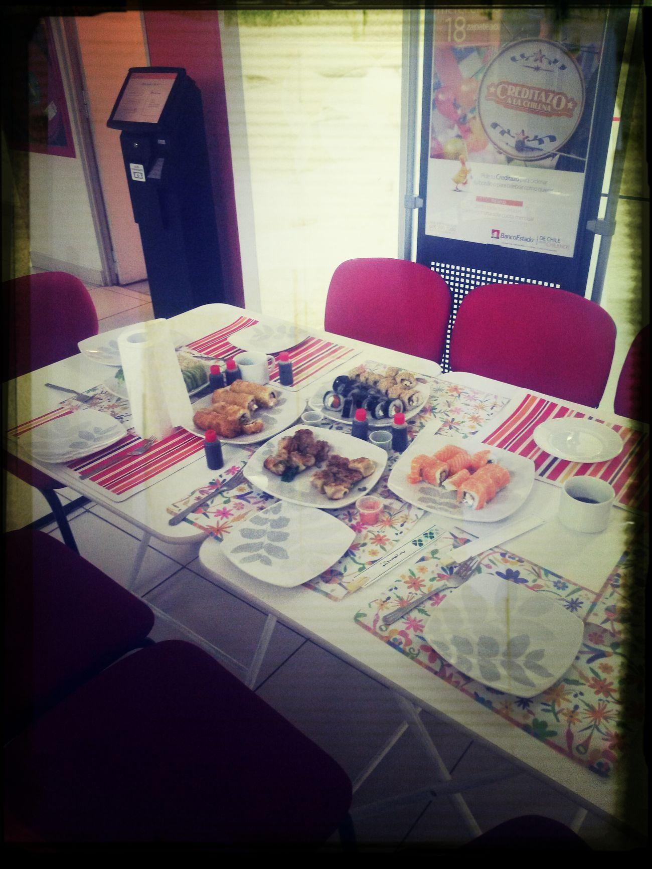 Almuerzo piolin en la pegaaaaa !!!!!