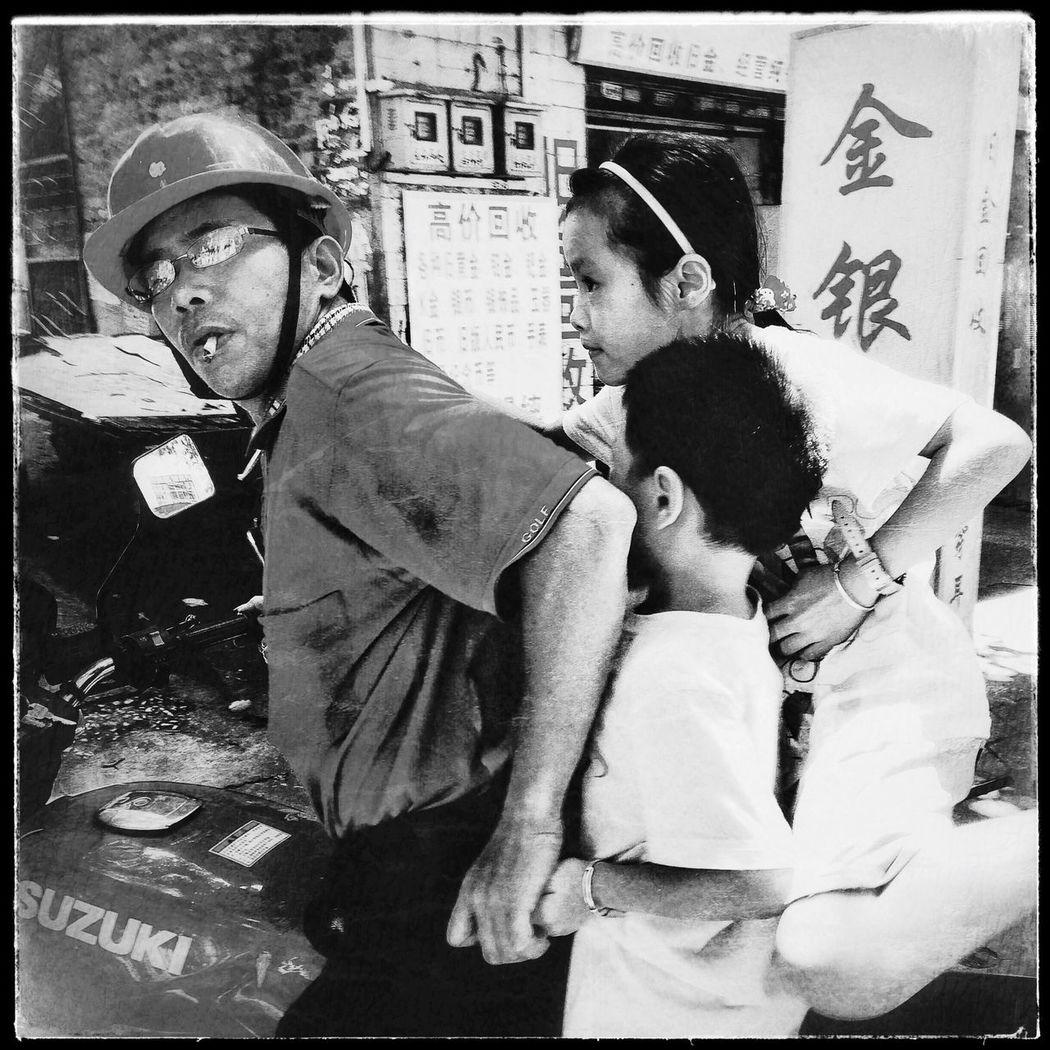 China Foshan Streetphotography Blackandwhite Candid 中国 佛山 街头摄影