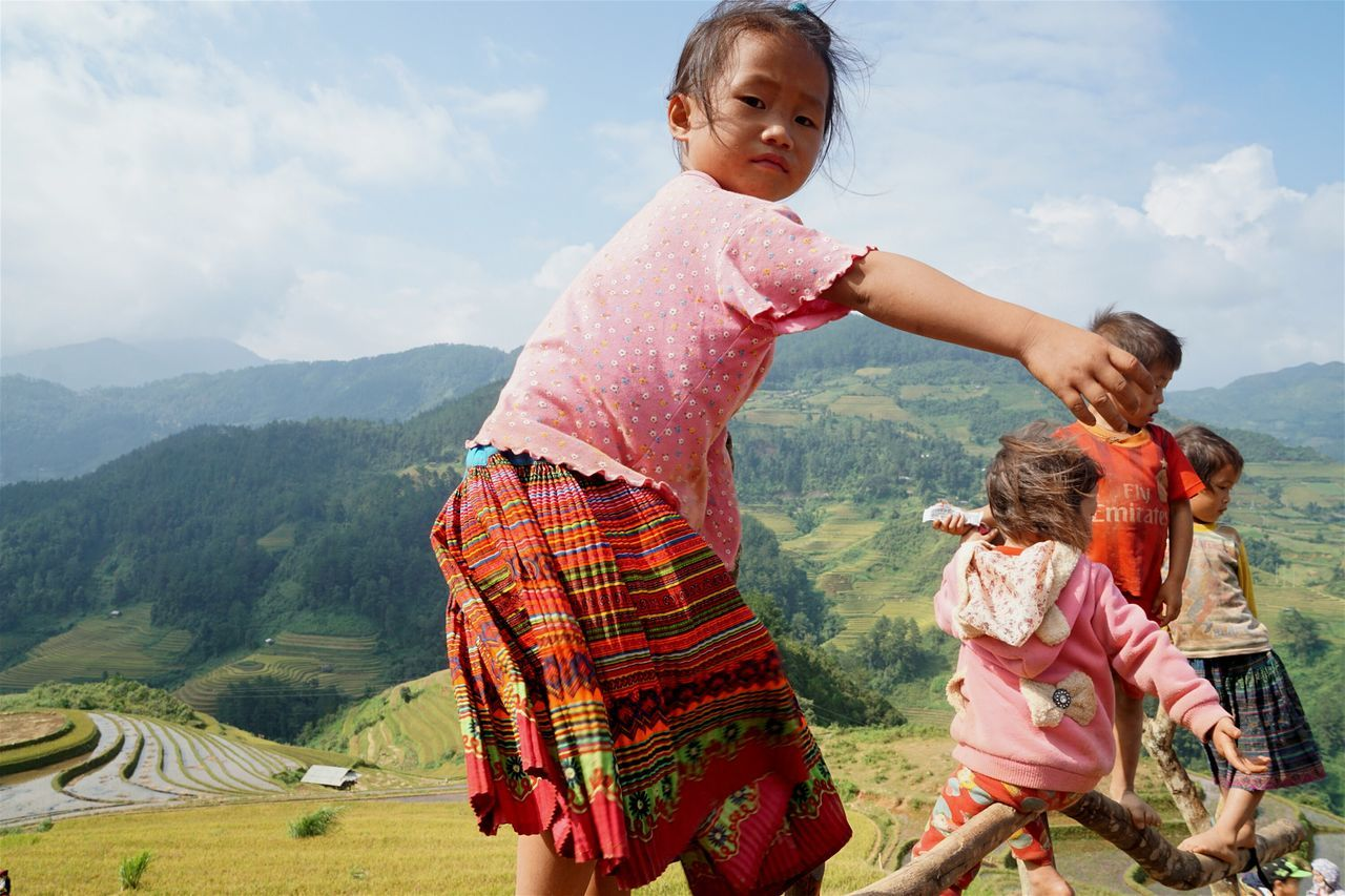 Beautiful stock photos of vietnam, mountain, sunlight, sunny, casual clothing